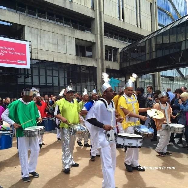 Foire Paris Tropical Fete musicians