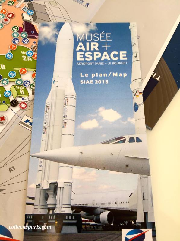 Map for the Musée Air + Espace at Le Bourget