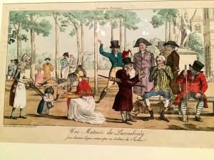 "Illustration of ""Une Matinée du Luxembourg"