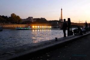 Looking toward Pont des Invalides at sunset-September