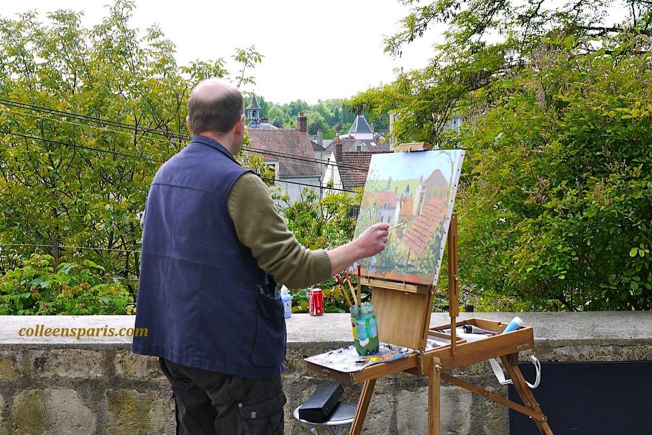 X0010 Auvers Painter