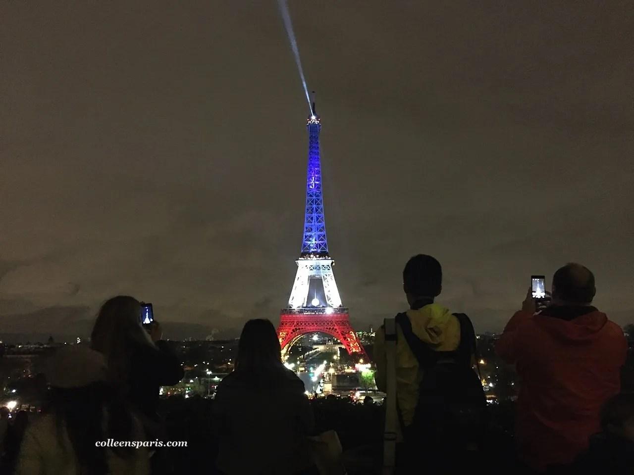 Eiffel Tower redwhiteblue 5951