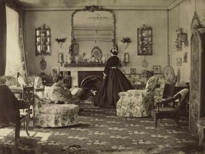 Lady Frances Jocelyn, Interior, 1865 ©Photo courtesy of the Washington national Gallery of Art, R.K. Mellon Family Foundation, Washington D.C.
