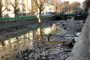 Canal Saint Martin cleaning 0270