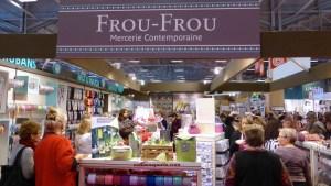 Frou-Frou mercerie stand at Aiguille en Fete 2014