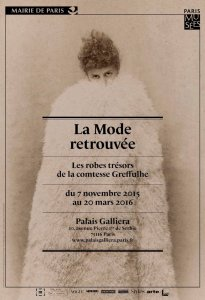 poser of the exhibition for La Mode Retrouvée Comtesse Greffulhe a muse of Marcel Proust