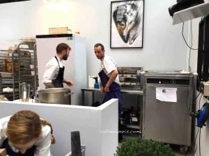 Restaurant Salt - cuisiners in action - Taste of Paris 2016 Grand Palais