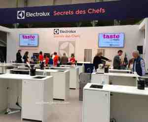 Taste of Paris 2016 Cooking class session Grand Palais