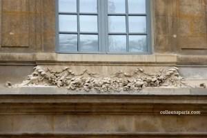 Just a garland sculpture at the Hôtel Salé? Look closer (Picasso Museum)