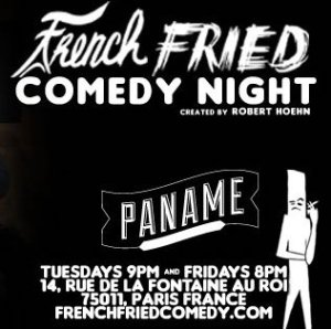 French Fried Comedy Night Paname Paris