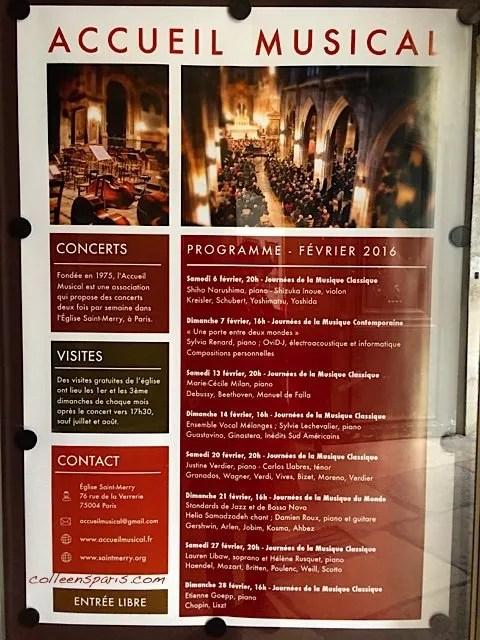 Saint Merry Concerts 8126