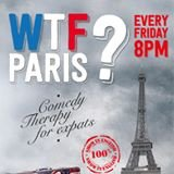 WTF? Paris Comedy Theraphy for expats poster