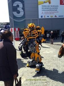 Robots/Transformers at Foire de Paris.