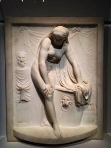 Bathing nymph, Johan Tobias Sergel, 1767-1778, Carambolages RMN Grand Palais, Paris