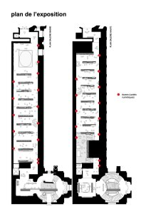 Zig-zag/weaving layout of Carambolages, Carambolages RMN Grand Palais, Paris