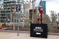 Avengers STATION exhibit Esplanade La Defense