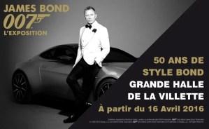 James Bond 007 50 years of Bond Style at La Villette, Paris