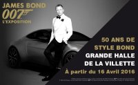 James Bond 007 50 years of Bond Style at La Villette, Paris