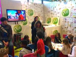 Gulli (children's television station; their stand at Salon du chocolat Junior, Paris http://www.gulli.fr/Quoi-d-neuf/Actu/Le-Salon-du-Chocolat