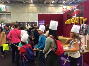 Choco-Tours with Wondercity at the Salon du Chocolat Junior, given several times a day, to explore the Salon with a guide