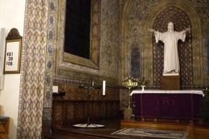 Altar Swedish church in Paris Svenska Kyrkan 9 Rue Médéric, 75017 Paris