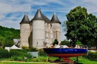 Château des Tourelles Vernon-Giverny bike trip