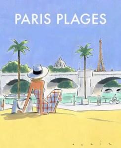 Poster for Paris Plages 2017 from Seine Saint-Denis Office of Tourism