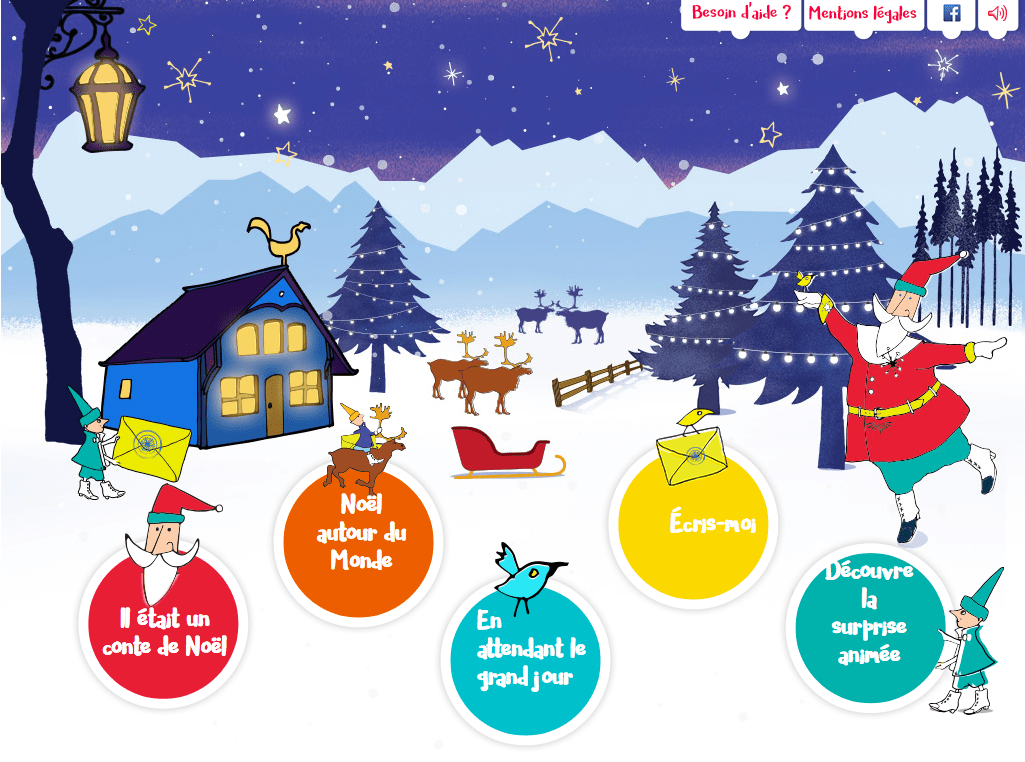 Pere Noel and La Poste Secretariat opens today November 9 for letters to Santa