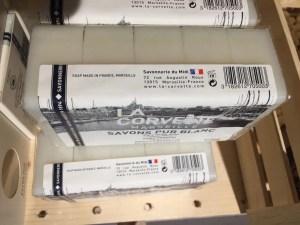 BHV Marais soap Marseille