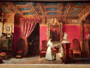 Studio of Princess Marie d'Orléans Tuileries Palace, Prosper Lafaye (1806 - 1883)