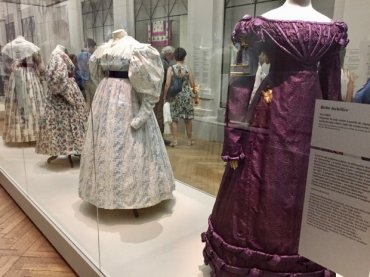 Dresses from Romantic period