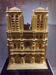 Clock pendulum of Notre-Dame, 1835-1845