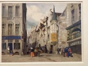 Illustration of L'Hôtel de Cluny, Thomas Shotter Boys