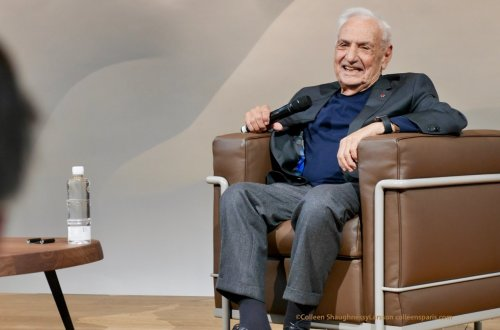 Frank Gehry Fondation Louis Vuitton conversation with Jean-Louis Cohen