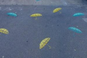 image of Umbrellas rue de Turenne