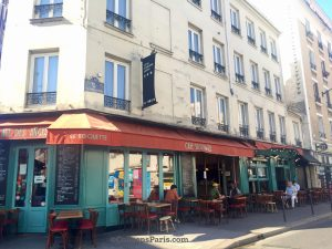Image of Café des Anges Rue de la Roquette