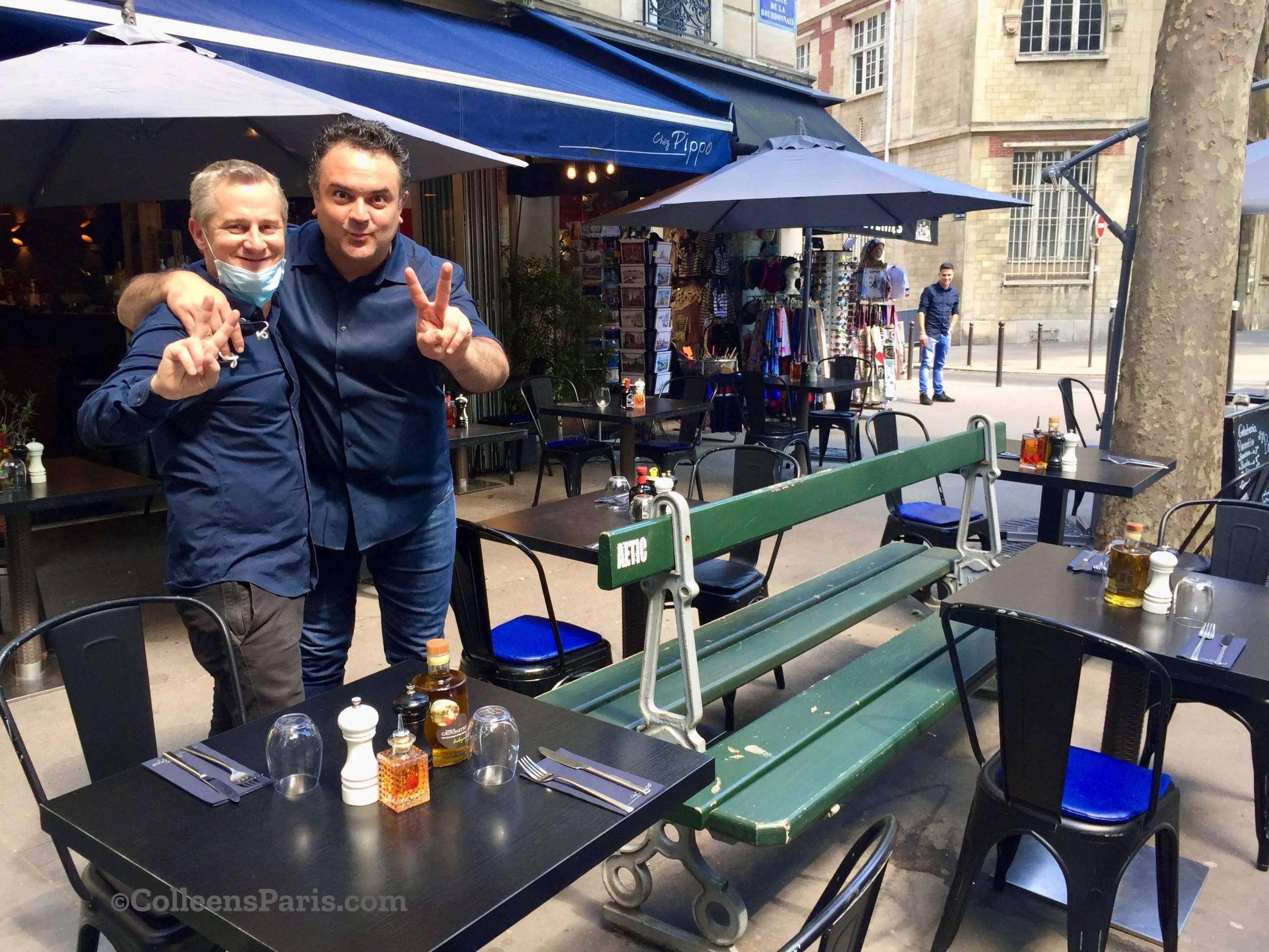 New Real Estate for Paris Sidewalk Cafés