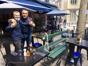 image of 2 restaurateurs at Chez Piippo
