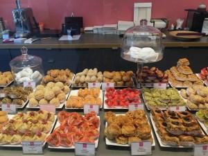 image of fine creative almond pastries at Diamande