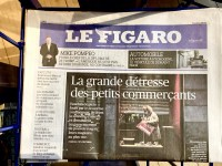 Image of Le Figaro newspaper small business owners