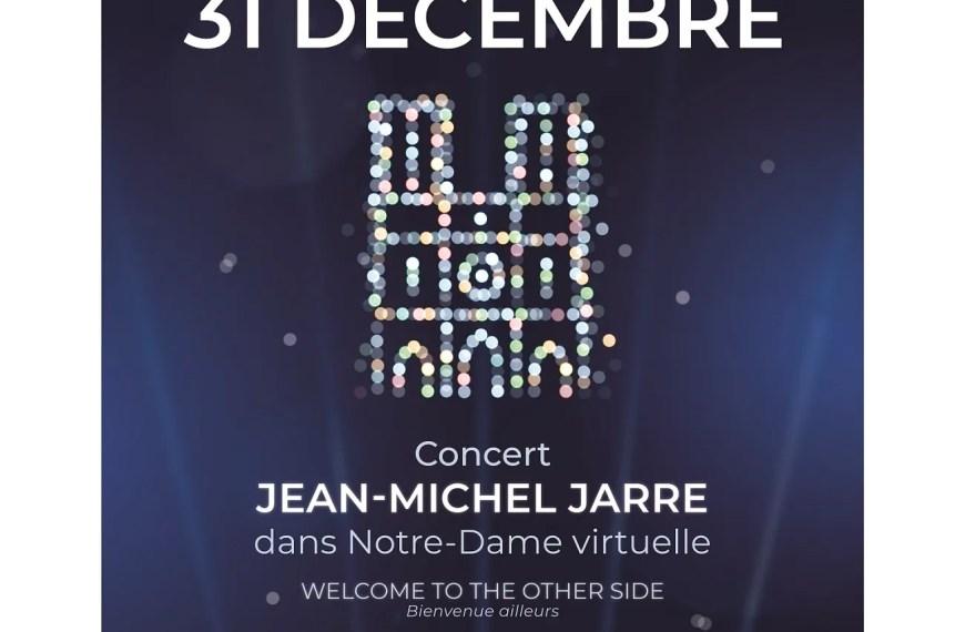 Notre-Dame de Paris and Jean-Michel Jarre