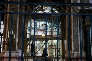 Interior Eglise Saint-Merry Restoration of Niche