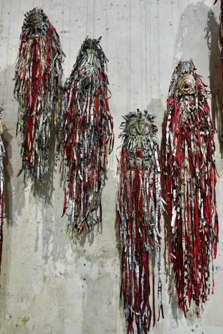 """Jim Sanders """"Lares"""" 2020 Topographie de l'art rue de Thorigny Paris"""