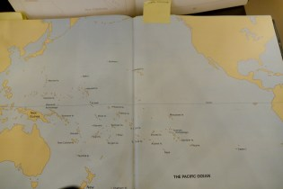 Map of Melanesia Solomon Islands, Santa Cruz Islands, Bismarck Archipelagos @galeriemeyer