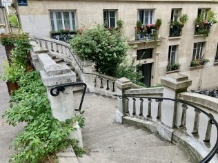 Staircase Rue Gaston-Coute and rue Paul Féval