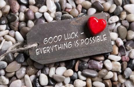 Veel succes wensen