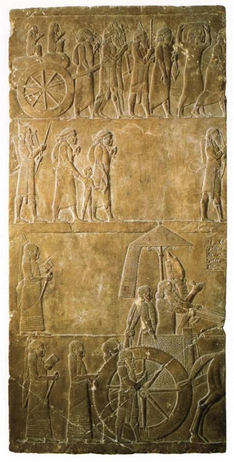 Frieze Of King Ashurbanipal C 645 Bce The Core Curriculum