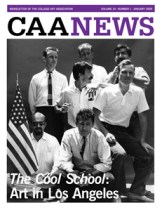 January 2009 CAA News cover