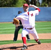 John Lally pitched seven strong innings for the win.