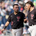 Texas Tech beat Florida 3-2 Tuesday afternoon at TD Ameritrade Park in Omaha, Neb. (Photo by Michelle Bishop)